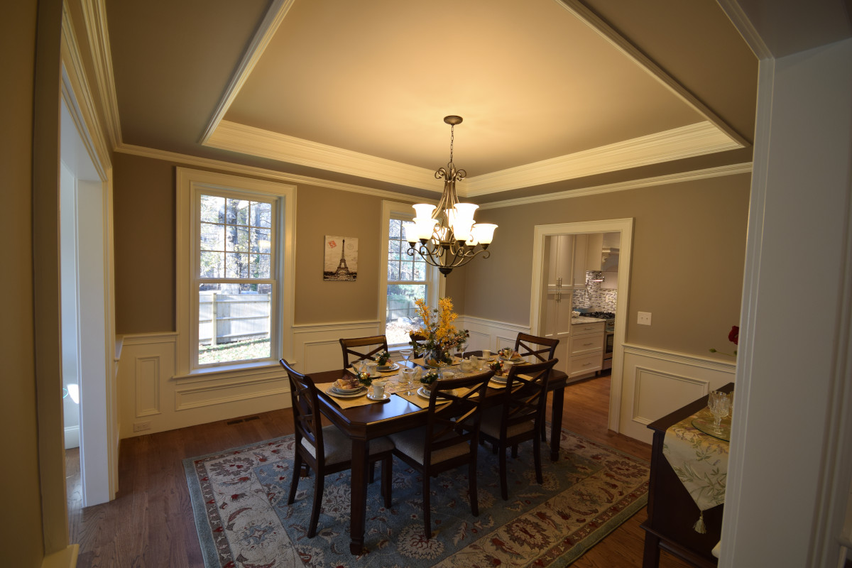 How to Paint a Room - picture of dining room