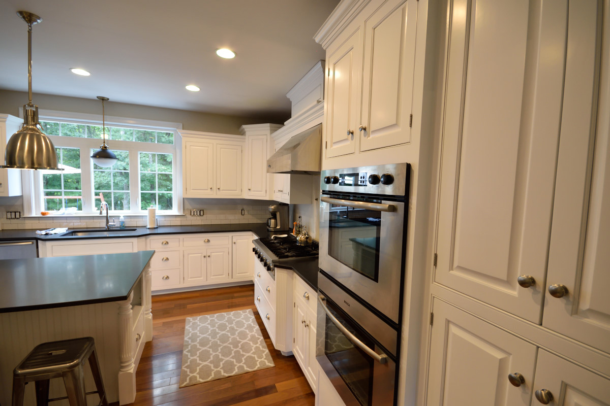 Kitchen Cabinet Painting - image of white painted kitchen cabinets