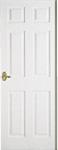 How to Paint a Door - picture of an Interior Door
