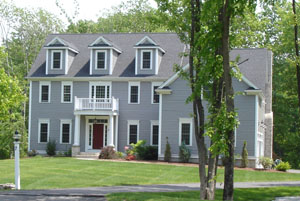 How to Paint a House Exterior - picture of Outside of House
