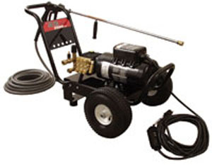 How to Use a Pressure Washer - picture of a pressure washer